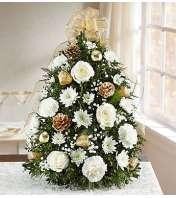 Glistening Gold™ Holiday Flower Tree®