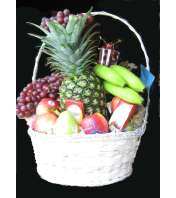 Gourmet Fruit & Snack Basket