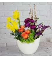 Fleur de Lys Floral Artisan Arrangement 21
