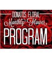 6 Month Floral Program