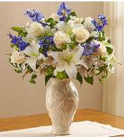 Loving Blooms in Lenox® Blue & White