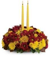 2 candle centerpiece