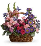 Country Basket Blooms JF
