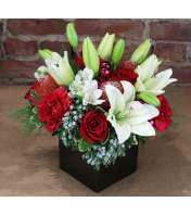 An artisan arrangement, specially created by our own expert flora