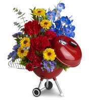 WEBER® King of the Grill by Teleflora