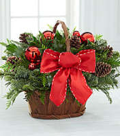 Rustic Holiday Basket