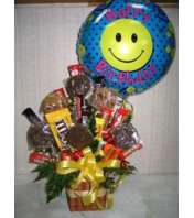 Bouquet of Smiles Treats