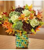 Amber Waves™ in Mosaic Jar