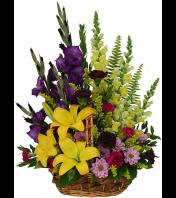 summer garden  basket