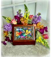 "Keepsake Music Box ""Colorful Bliss"""