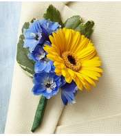 Country Wedding Boutonniere