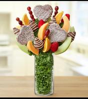 Personalized Vase Fruit Arrangement – Chocola