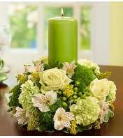 Celebration Centerpiece with Candle
