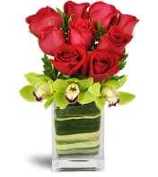Exotic Rose Orchid Vase™