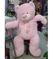 Huggable Jumbo Pink Teddy Bear