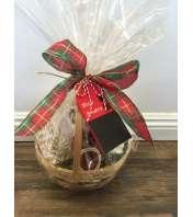 Mini Holiday Gift Basket