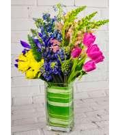 Fleur de Lys Floral Artisan Arrangement 11