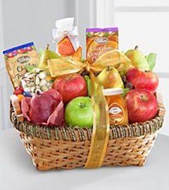 Warmhearted Wishes Kosher Fruit Basket
