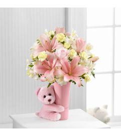 Baby Girl Big Hug Bouquet