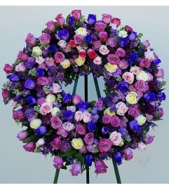 Gracious Lavender Wreath