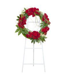 Enduring Strength Royal Rose Wreath