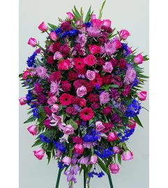 Beautiful Purple Floral Spray #2