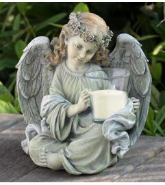 Angel With Candle