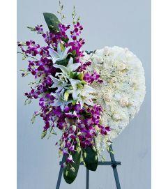Hawaiian Orchid Heart