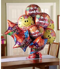 Balloon Bouquet with chocolate