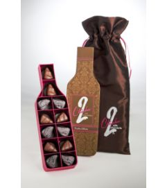 2 CHICKS WITH CHOCOLATE-- WINE COLLECTION