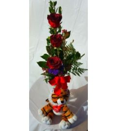 Wild About You Glitter Roses