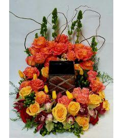 Memorial Service Urn Wreath #2
