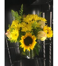 Sunflower yellow medley