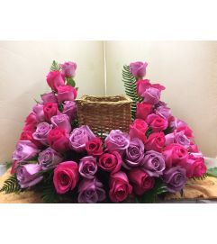 Rose Urn Piece