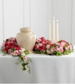 Flowers of Remembrance Urn Arrangement