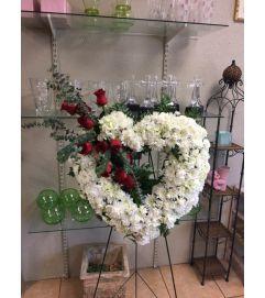 Standing Funeral Heart