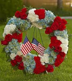 Service Honor Wreath