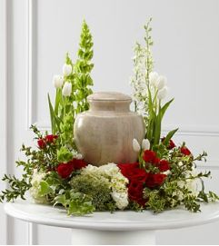 Comforting Urn Arrangement