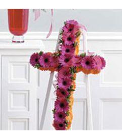 Gerbera standing Cross