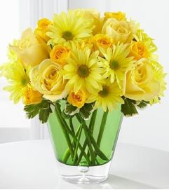 The FTD Sunburst® Bouquet by Better Homes and Gardens®