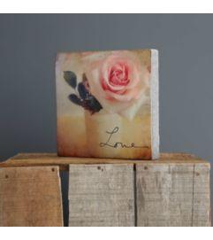 Love Rose Block