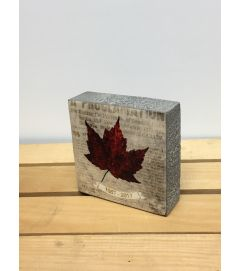 150th Canada Leaf Block