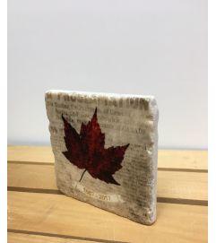 150 th Canada Leaf Coaster