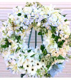 Elegant White Wreath #2