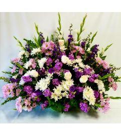 Lavender Floral Spray #3