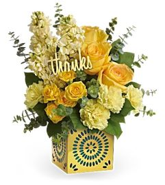 Shimmer of Thanks by Teleflora