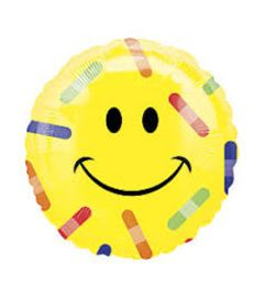 Happy Face/bandaid Balloon