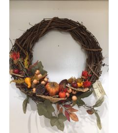 Medium Vine Fall Wreath