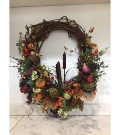Fall Harvest Wreath