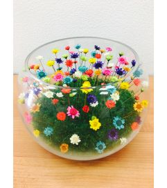 Forever Love Flowers L Bowl